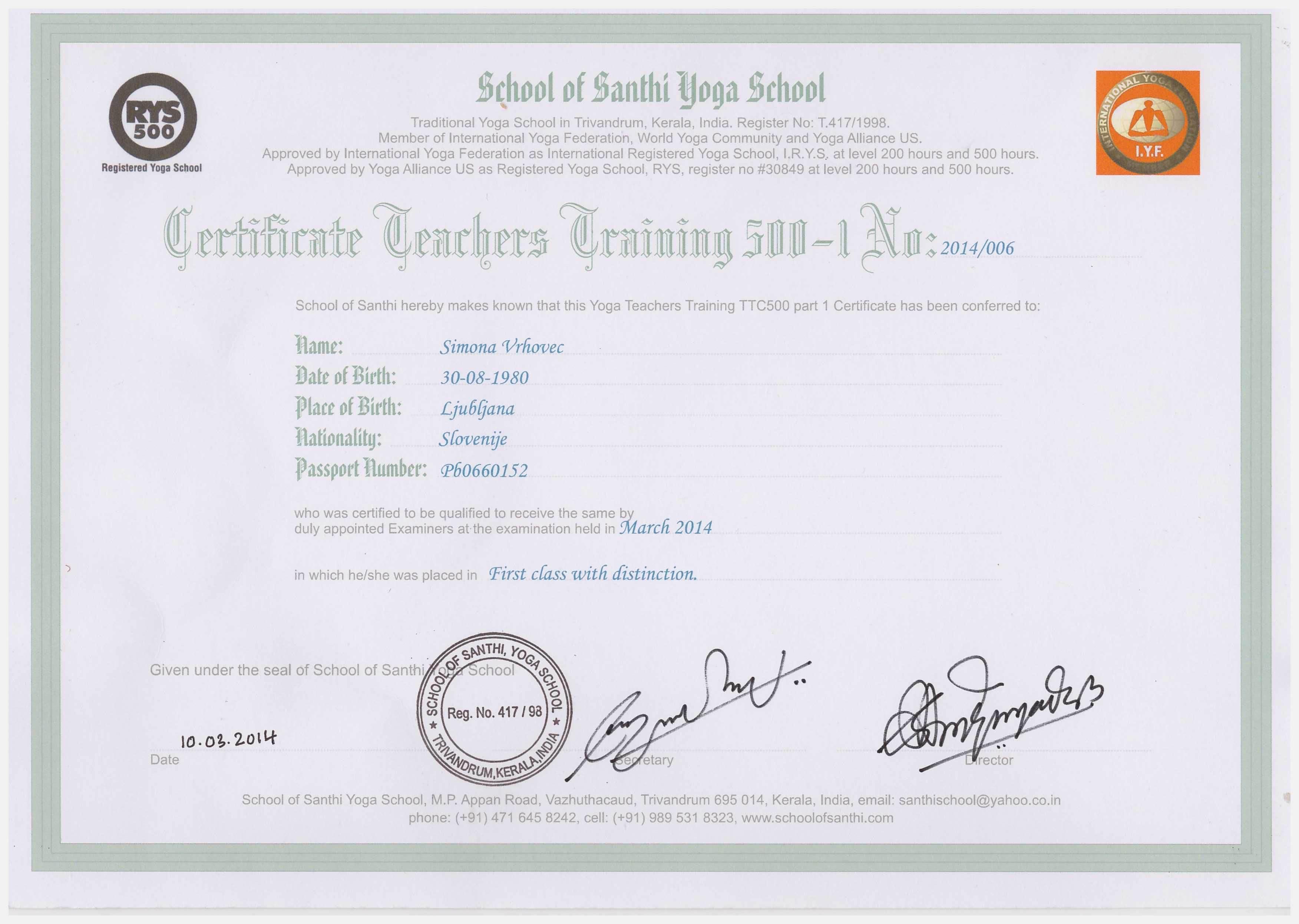 certifikat joge_mokini yoga_joga