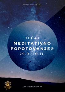 meditativno popotovanje